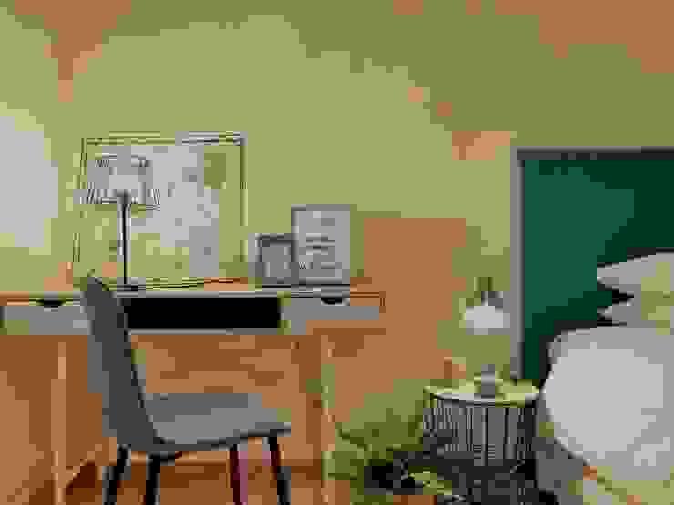 Decoración de dormitorio de A interiorismo by Maria Andes Moderno