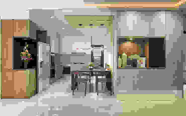 餐廳 根據 木博士團隊/動念室內設計制作 日式風、東方風 MDF