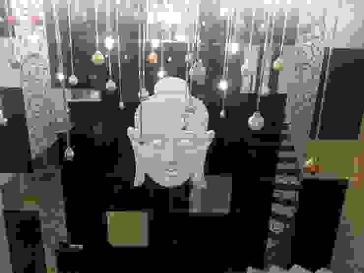 INTERIOR DESIGNERS & TURNKEY SERVICE - Punjabi bagh 7WD Design Studio Modern living room Wood Black