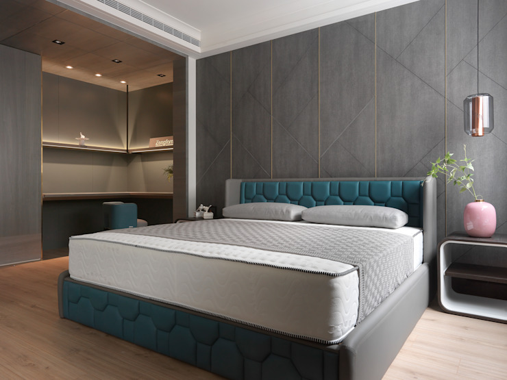 Modern style bedroom by 肯星室內設計 Modern