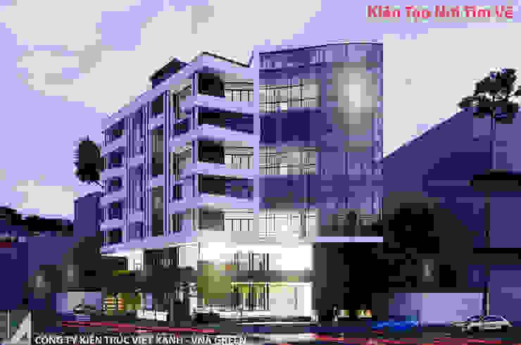 KHÁCH SẠN HIỆN ĐẠI 08 TẦNG – HẢI PHÒNG bởi Kiến trúc Việt Xanh