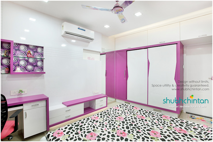 Daughters room : modern  by Shubhchintan Design possibilities,Modern Plywood