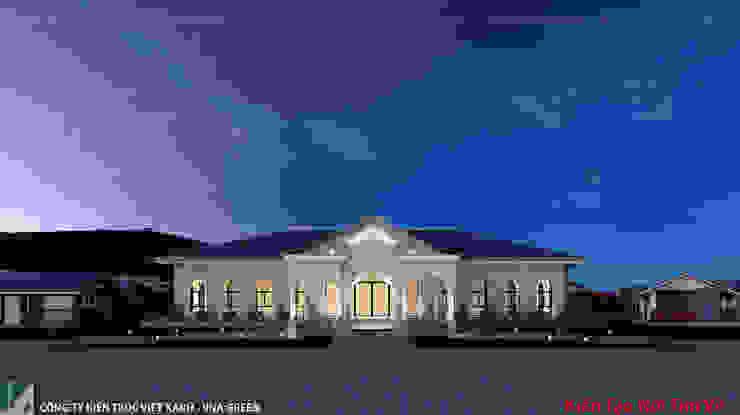 NHÀ HÀNG 200M2 - 01 TẦNG - HẢI PHÒNG bởi Kiến trúc Việt Xanh