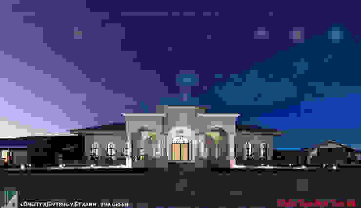 NHÀ HÀNG 200M2 – 01 TẦNG – HẢI PHÒNG bởi Kiến trúc Việt Xanh