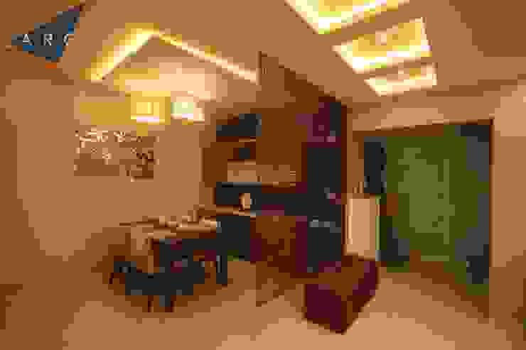 Dining Room Larq Design Pvt Ltd Modern dining room