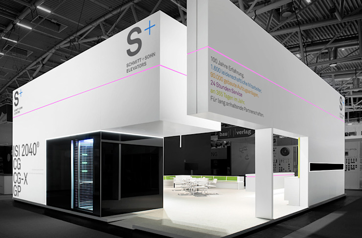 Marius Schreyer Design Exhibition centres