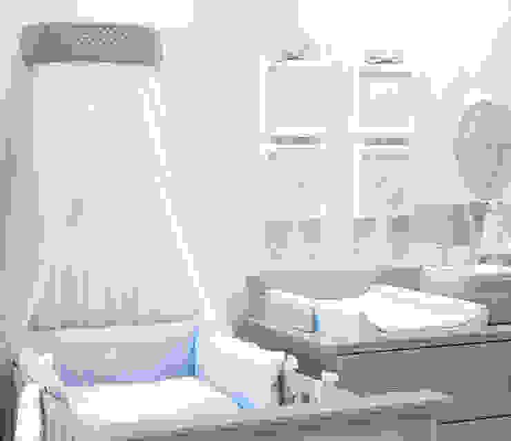 baby d'Oro Minimalistische Kinderzimmer Weiß