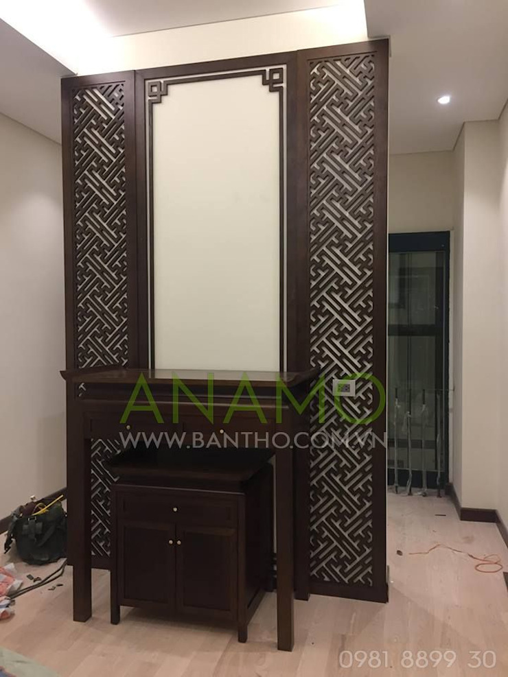 Bàn thờ gia tiên Anamo ABT-3: Châu Á  by Bàn Thờ Anamo, Châu Á Gỗ Wood effect