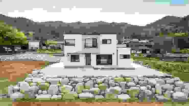 라이프 스타일을 그대로 담아낸 예쁜전원주택의 외관 한글주택(주) 전원 주택