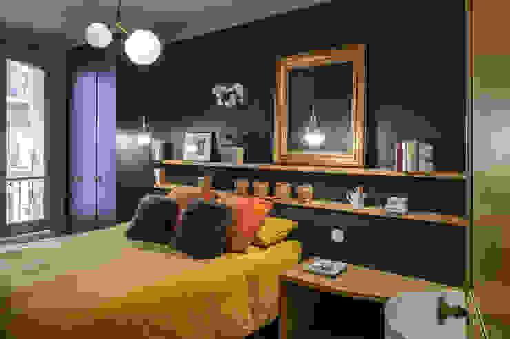 4eme Mur-Intérieurs Kamar Tidur Modern