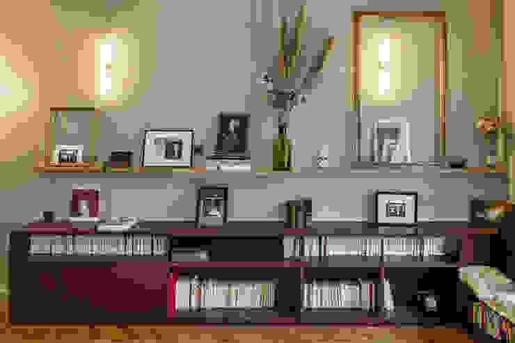 Bibliothèque 4eme Mur-Intérieurs Salon moderne