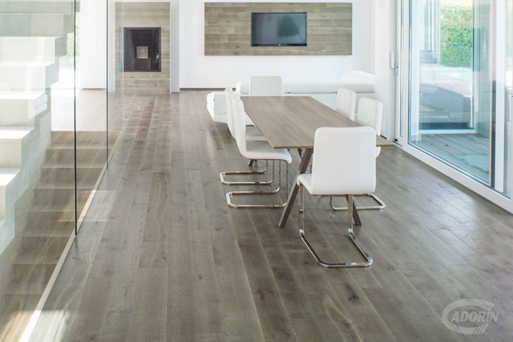 Cadorin Group Srl - Italian craftsmanship production Wood flooring and Coverings Modern Living Room Wood