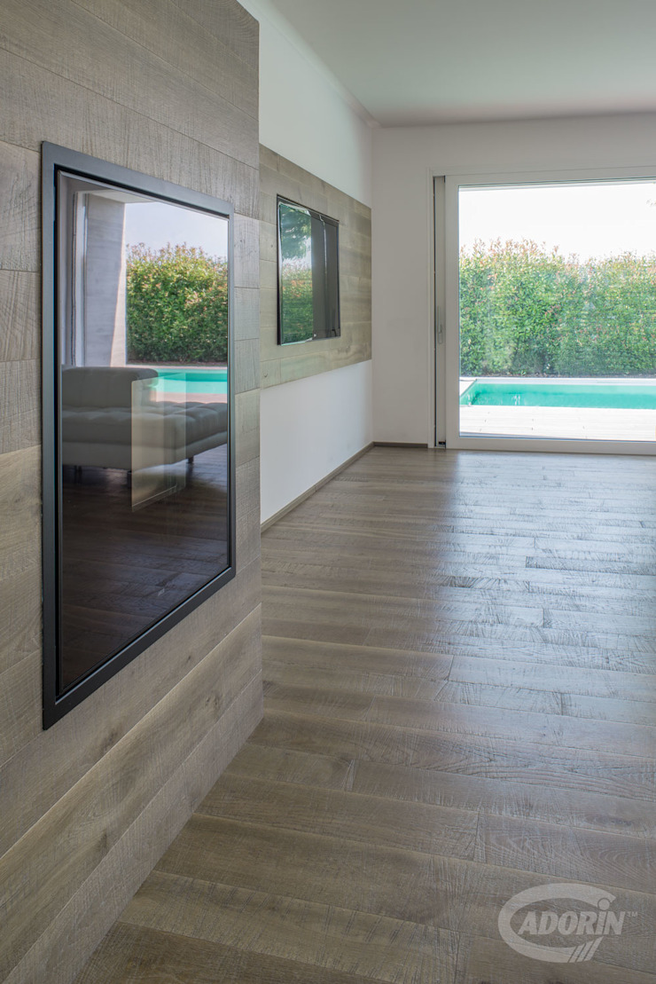 Cadorin Group Srl - Italian craftsmanship production Wood flooring and Coverings Modern Walls and Floors Wood