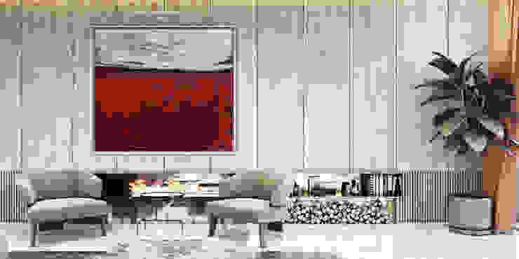 Modern living room by Entrada Mimarlık Modern Wood Wood effect