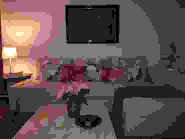 Valhallavagen, Sweden Modern living room by Anna Hansson Design Modern Marble