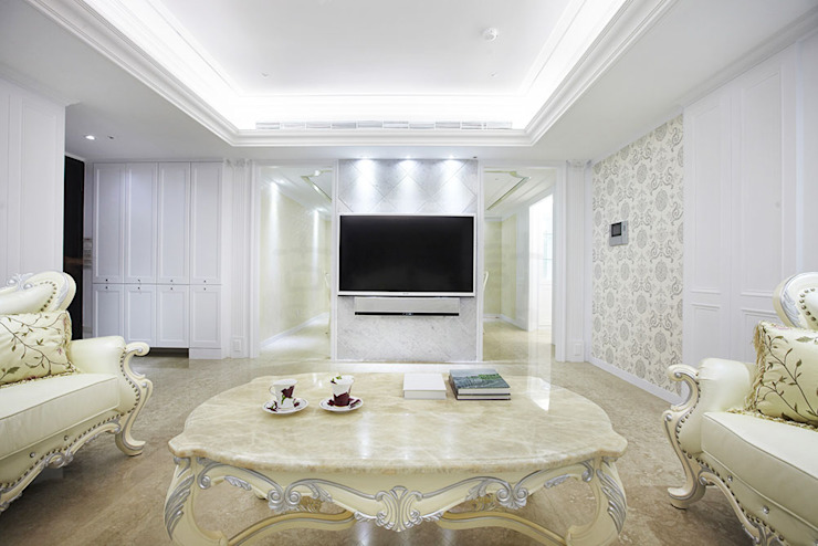 Modern Living Room by 古迪室內設計 Modern