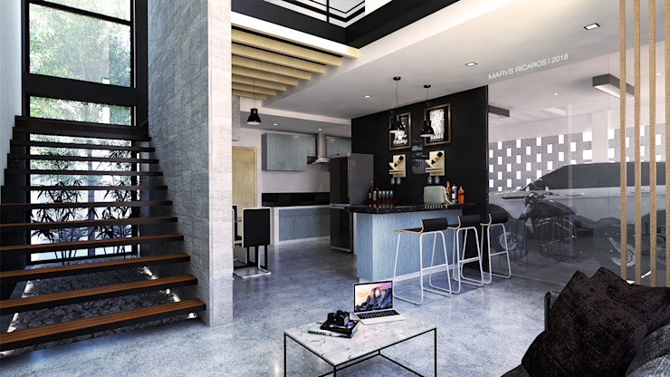 View from living area by MR architecture