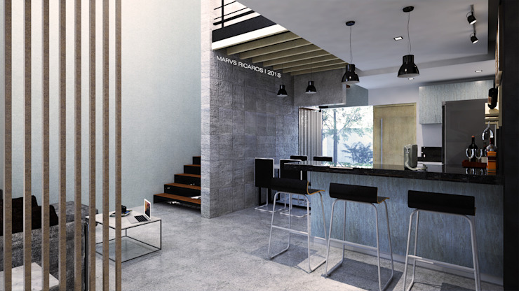 View from entrance by MR architecture