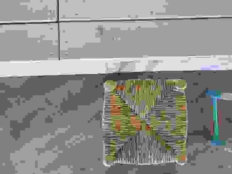 Materiales tradicionales en recepción Hoteles de estilo mediterráneo de A interiorismo by Maria Andes Mediterráneo Madera Acabado en madera