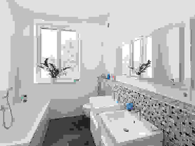 Banheiros clássicos por Müllers Büro Clássico Azulejo