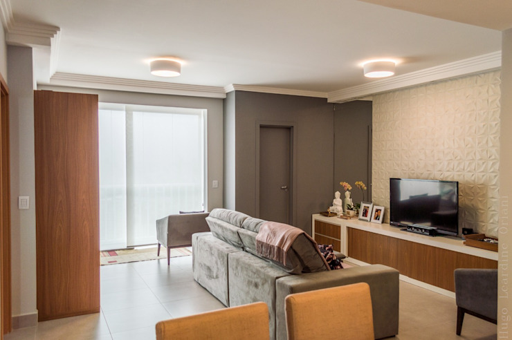 Modern media room by PROJETO EXPRESS Modern