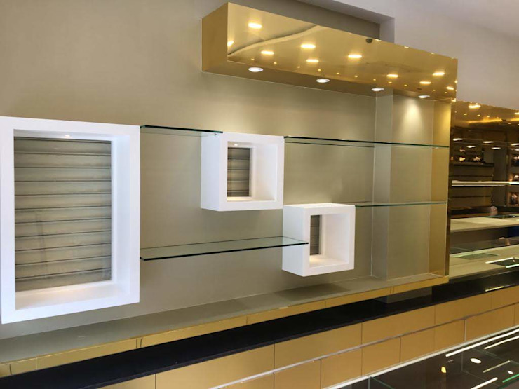 Display Unit Asian style walls & floors by DezinePro Asian