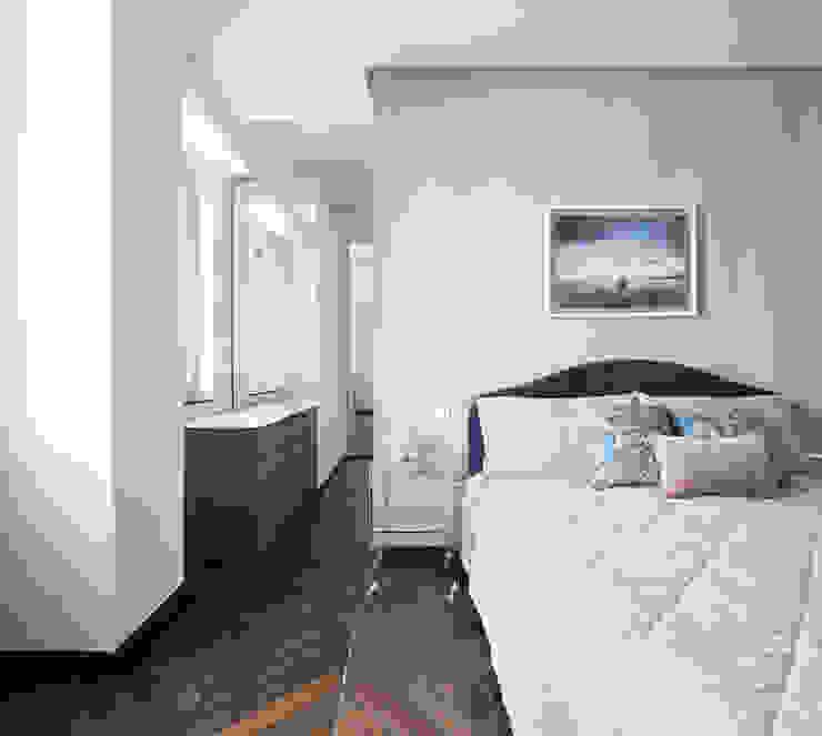CASA C&C Camera da letto moderna di Andrea Orioli Moderno Legno Effetto legno