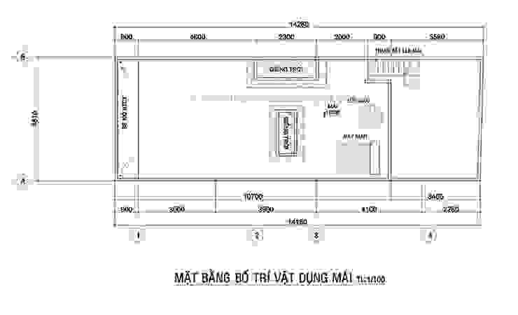 Mẫu thiết kế nhà ở kết hợp văn phòng hiện đại ở quận Gò Vấp bởi Công ty xây dựng nhà đẹp mới Hiện đại