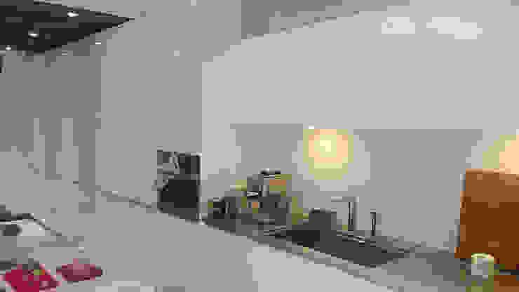 高身/電器櫃結合廚具 現代廚房設計點子、靈感&圖片 根據 微.櫥設計/We.Design Kitchen 現代風