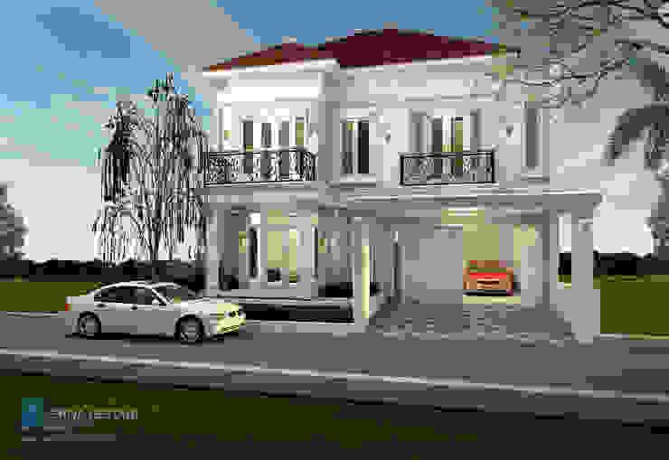 Desain Rumah Hunian dengan gaya klasik modern Oleh Griya Lestari Arsitektur Klasik