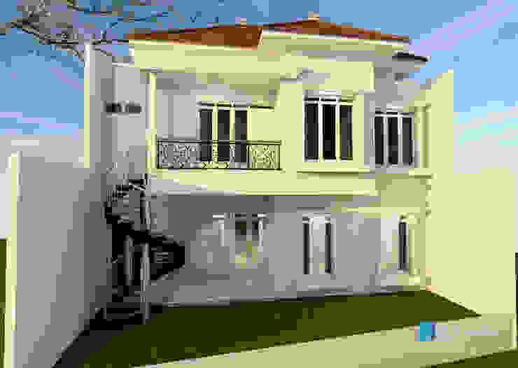 desain rumah Oleh Griya Lestari Arsitektur Klasik