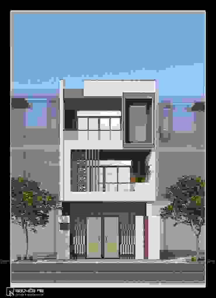 Cải tạo nhà phố thành căn hộ cho thuê bởi Công ty CỔ PHẦN TƯ VẤN THIẾT KẾ VÀ XÂY DỰNG NGUYÊN AN
