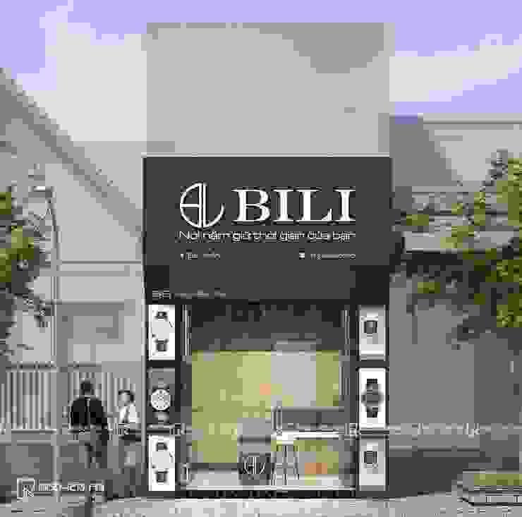 Thiết kế và thi công Shop đồng hồ Bili bởi Công ty CỔ PHẦN TƯ VẤN THIẾT KẾ VÀ XÂY DỰNG NGUYÊN AN