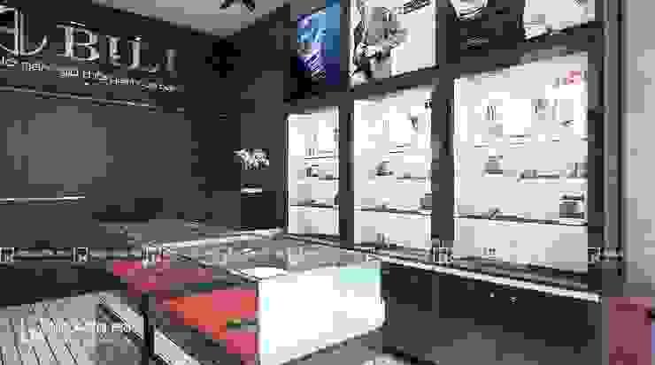 Thiết kế và thi công Shop đồng hồ Bili Phòng học/văn phòng phong cách tối giản bởi Công ty CỔ PHẦN TƯ VẤN THIẾT KẾ VÀ XÂY DỰNG NGUYÊN AN Tối giản