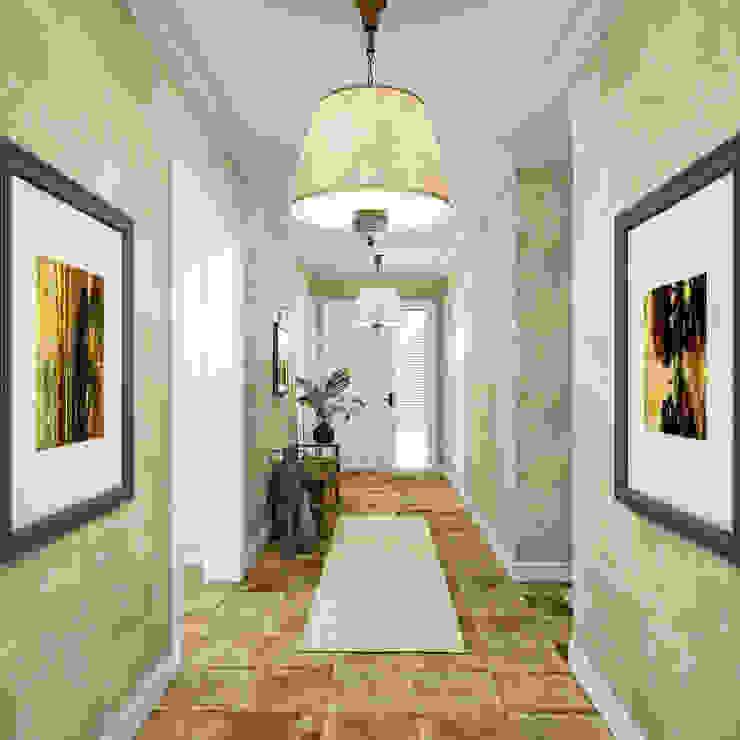 Villa Bakıcı Kırsal Koridor, Hol & Merdivenler yücel partners Kırsal/Country