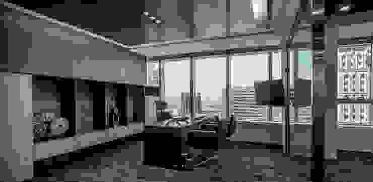 叡觀國際空間規劃 [豐邑市政核心/大敦Office] 根據 叡觀國際空間規劃 現代風