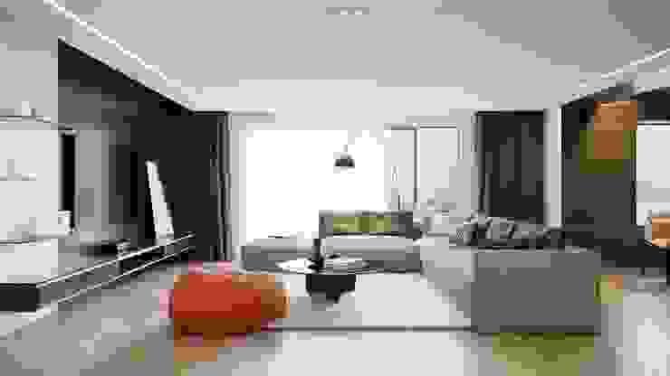 The living room : hiện đại  by Công ty CP Kiến trúc và Nội thất Sen design, Hiện đại MDF