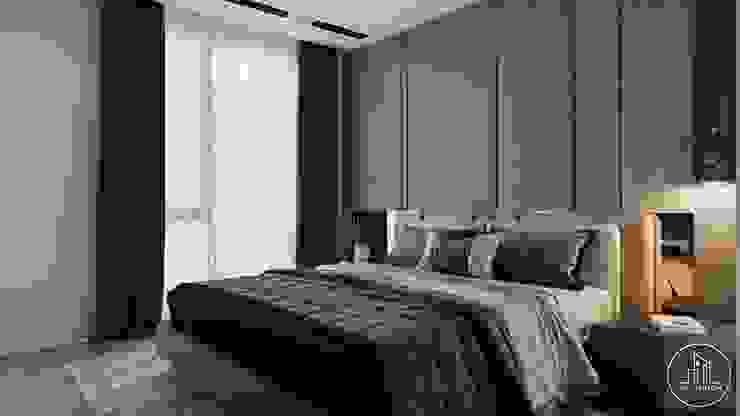 PHÒNG NGỦ: tối giản  by Công ty CP Kiến trúc và Nội thất Sen design, Tối giản Ly