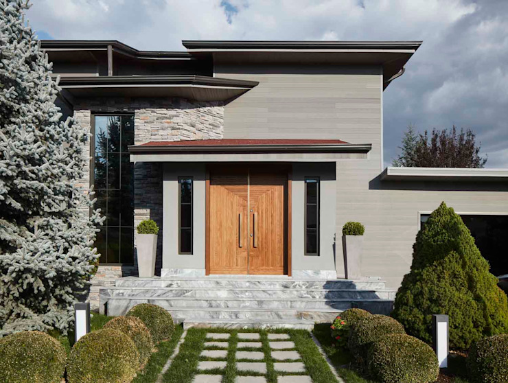 Afyon house Esra Kazmirci Mimarlik Villas Wood Grey