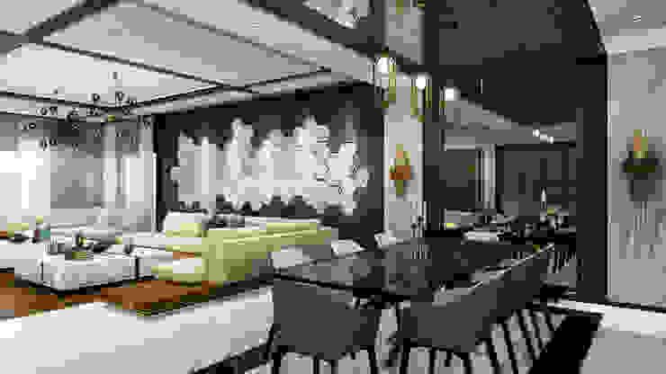 Гостиная в стиле модерн от ANTE MİMARLIK Модерн