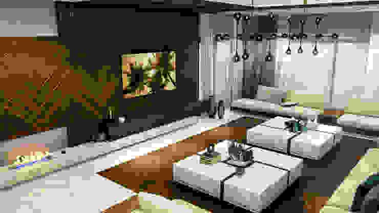 Salon ANTE MİMARLIK Modern Oturma Odası