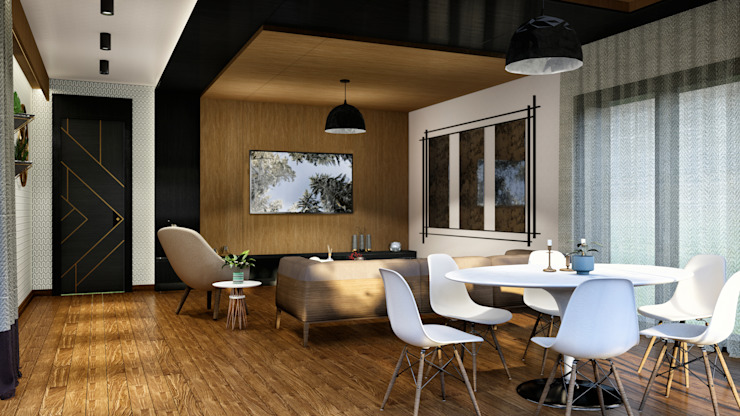 Oturma odası ANTE MİMARLIK Modern Oturma Odası