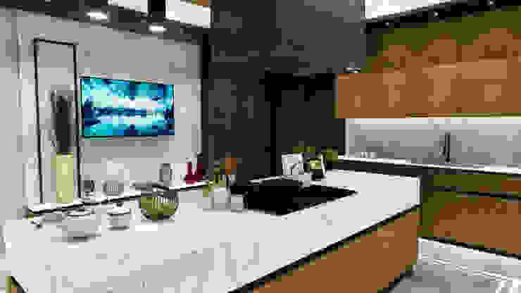 Mutfak tasarım ANTE MİMARLIK Mutfak üniteleri