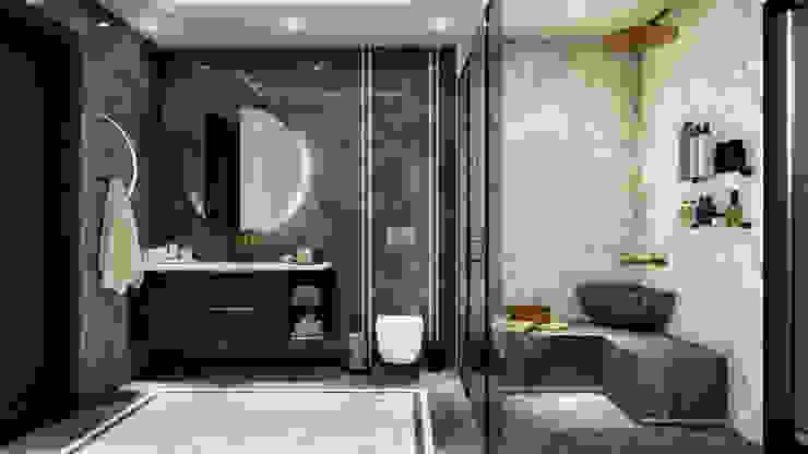 Banyo tasarım ANTE MİMARLIK Modern Banyo