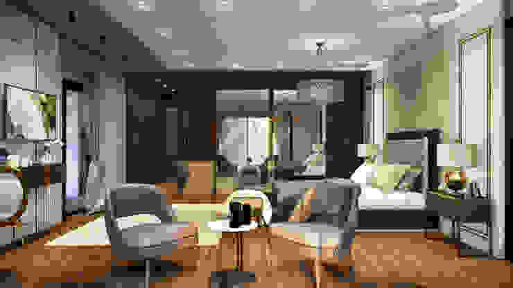 Yatak odası tasarım ANTE MİMARLIK Küçük Yatak Odası