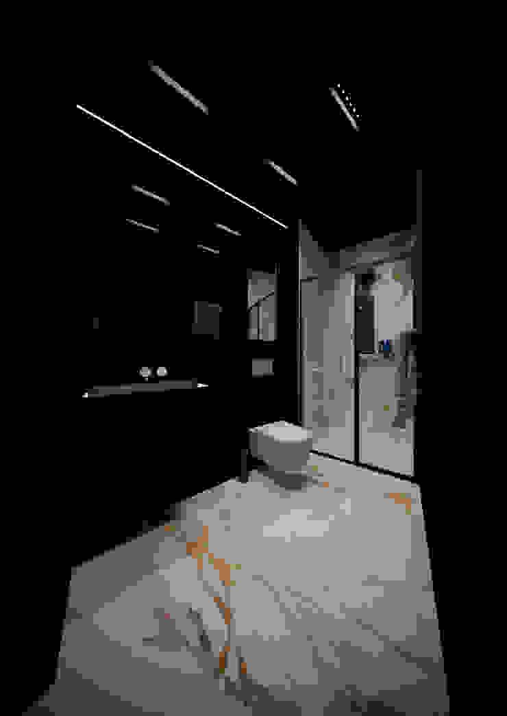 Modern Bathroom by LEVI interior Modern Marble