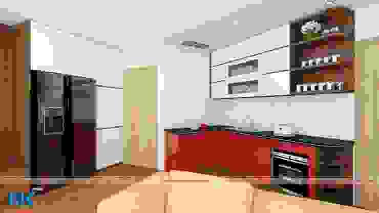 Mẫu thiết kế căn hộ chung cư 60m2 đơn giản mà hiện đại Nội thất Nguyễn Kim