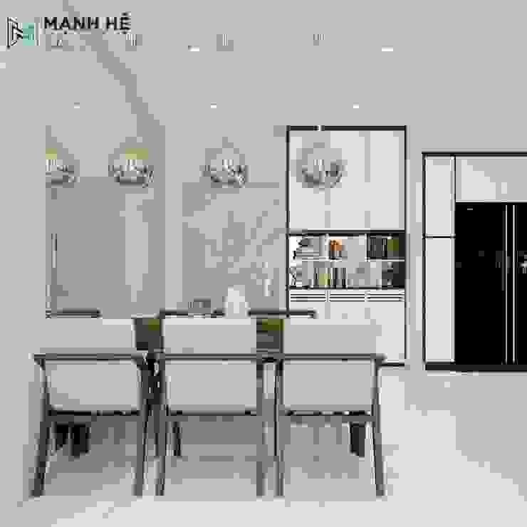 Salle à manger moderne par Công ty TNHH Nội Thất Mạnh Hệ Moderne Pierre