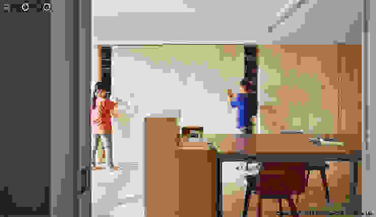 客廳 根據 光合作用設計有限公司 簡約風 木頭 Wood effect