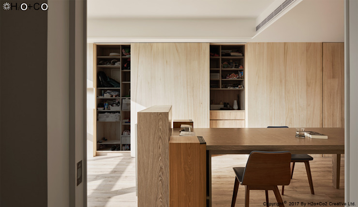 客廳 根據 光合作用設計有限公司 簡約風